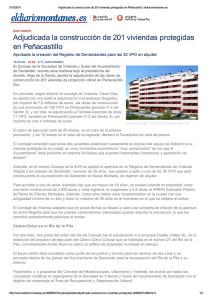 Adjudicada la construcci...lo. eldiariomontanes.es